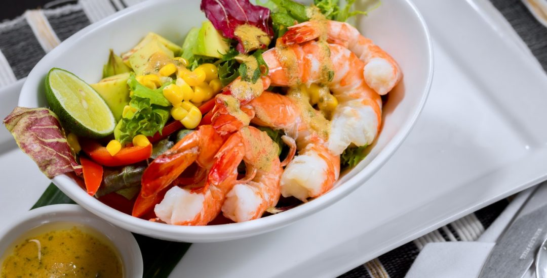 Kuta Puri's Prawn Avocado Salad