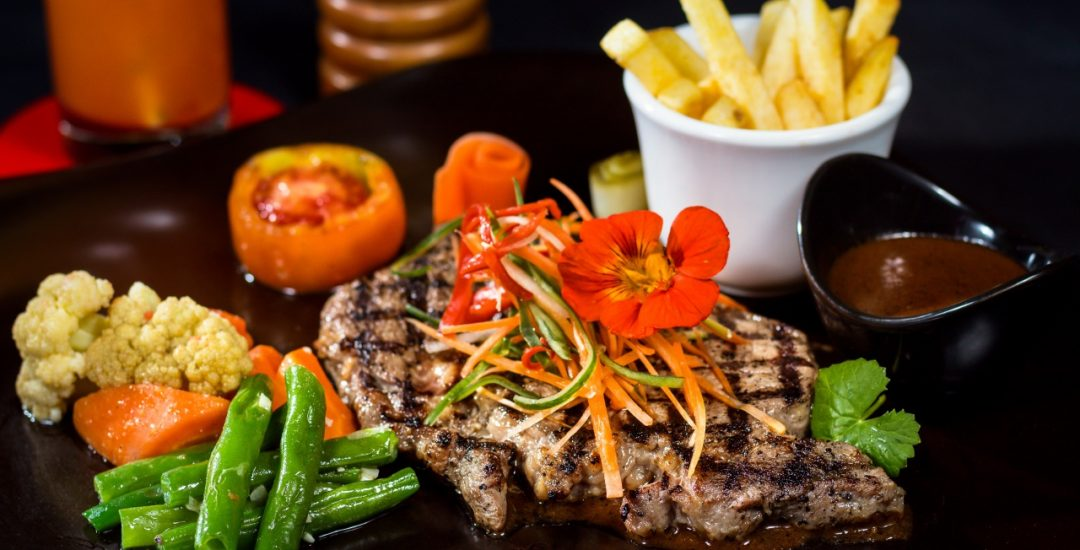 Kuta Puri's Scotch Rib Eye Steak